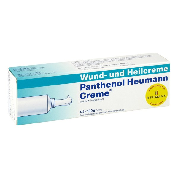 Panthenol Heumann 泛醇修复膏湿疹伤口创伤修复膏