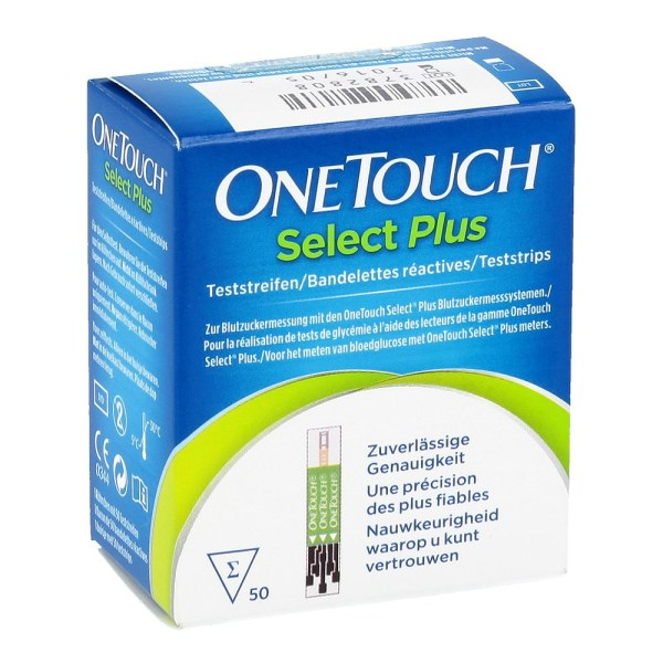 One Touch Selectplus 测试血糖试纸 50片试纸