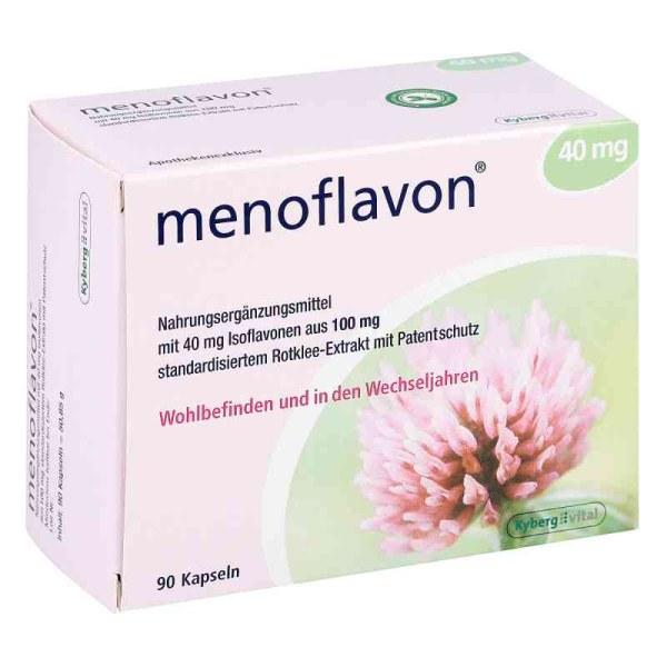 Menoflavon 红三叶草更年期营养补充品胶囊 90粒