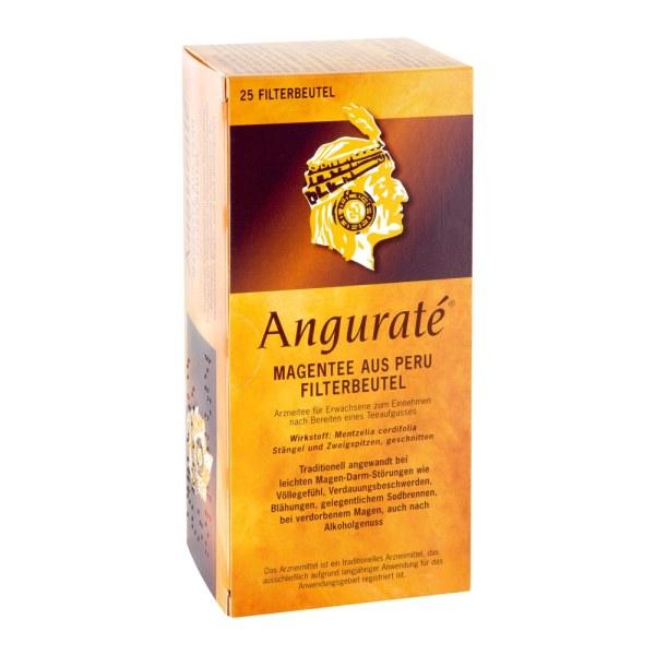 德国 Angurate 秘鲁解酒茶 舒缓酒后肠胃不适消化不良胃灼热