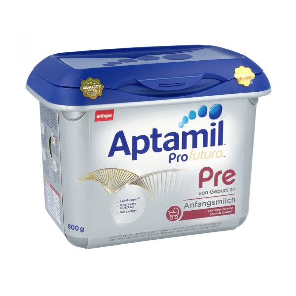 德国Aptamil 爱他美婴幼儿成长配方奶粉白金版 Pre段