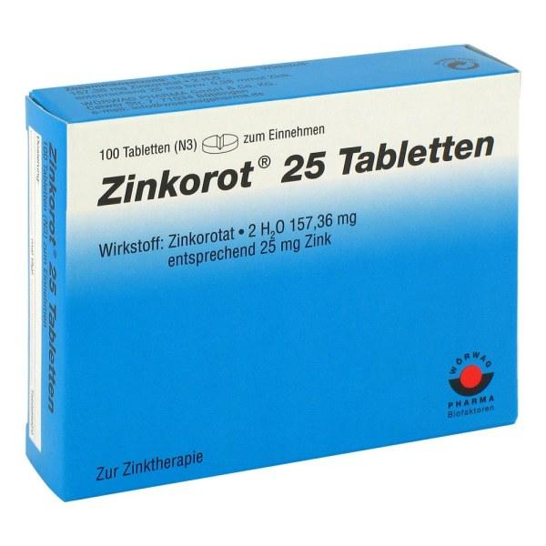 Zinkorot 25 补锌片 100片