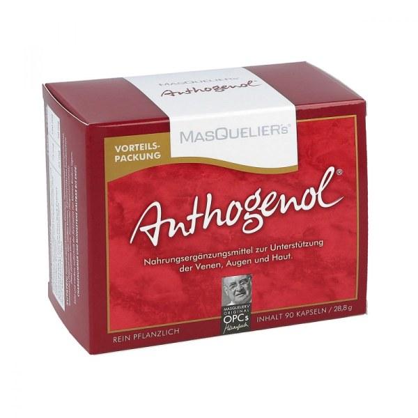 Masqueliers Anthogenol 静脉眼部肌肤营养补充胶囊 90粒
