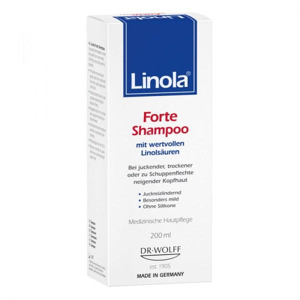 Linola 洗发露 头皮护理干燥红痒抗敏感
