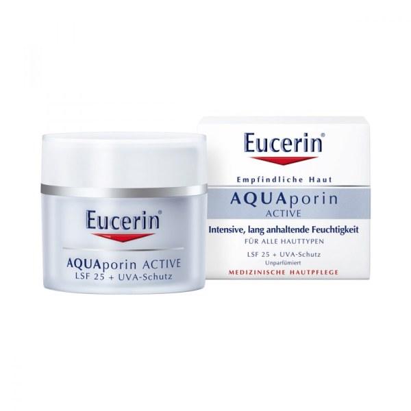 德国Eucerin 优色林修护舒缓保湿日霜 LSF25 阻抗UVA