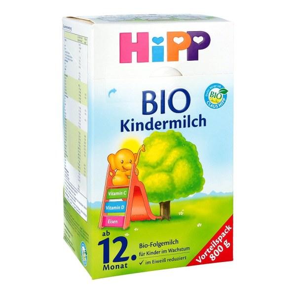 德国Hipp 喜宝BIO纯有机系列婴幼儿配方奶粉12+