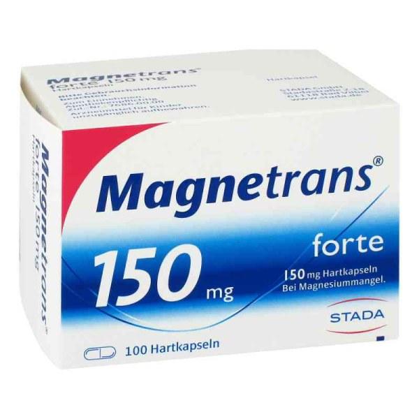 Magnetrans forte 150 mg 补镁胶囊 100粒