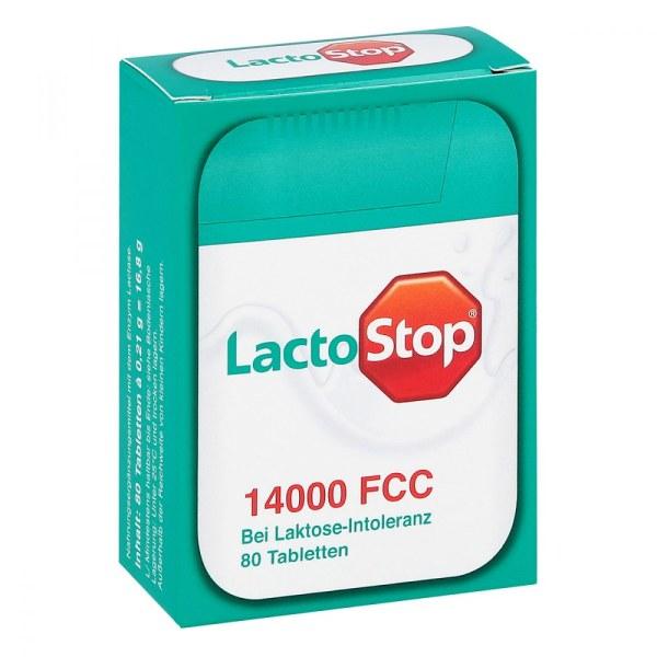 德国Lactostop 14000FCC乳糖酶营养补充片
