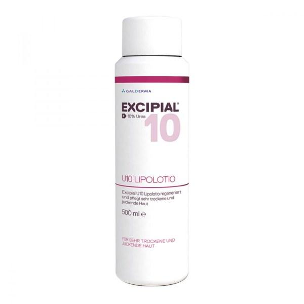 Excipial 倍润保湿温和干性皮肤护理霜 10%尿素 (500 ml)   敏感发痒皮肤
