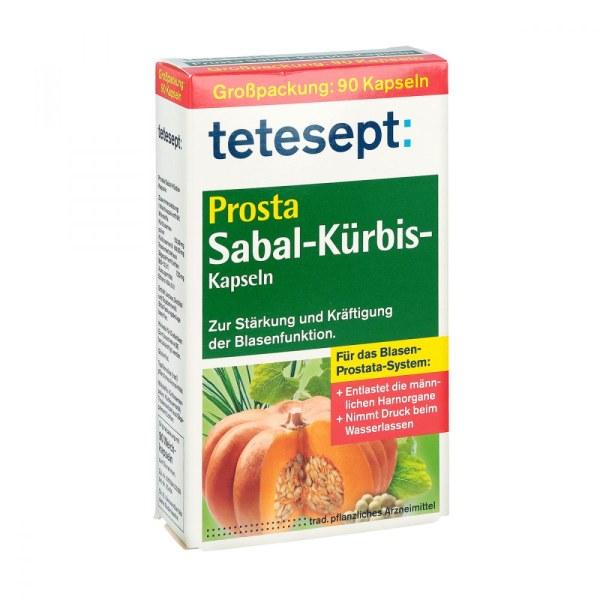 德国Tetesept Prosta 南瓜籽粒改善泌尿 90粒
