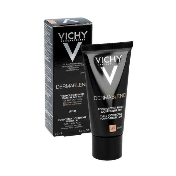 Vichy薇姿修颜持久遮瑕粉底液SPF35 30ml 35号沙色