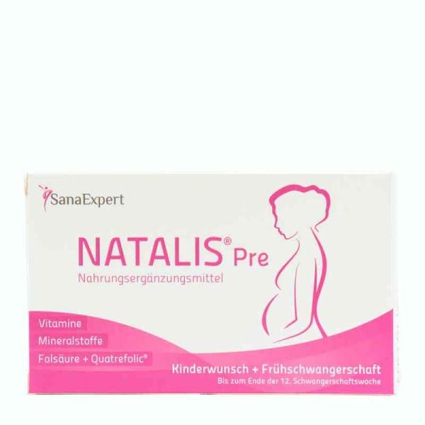 德国Sanaexpert Natalis Pre孕妇胶囊 针对孕期12周前准妈妈