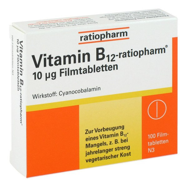 维他命B12 ratiopharm  营养片60片