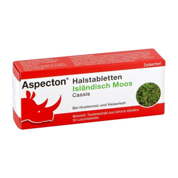 ASPECTON 止咳舒缓护嗓润喉糖 30粒