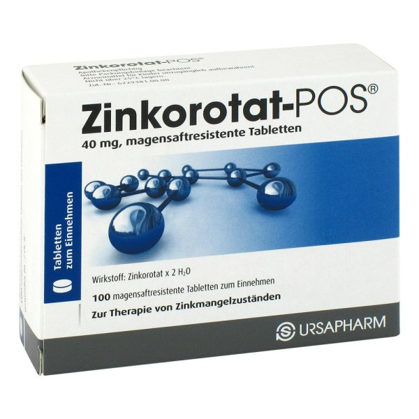 Zinkorotat-POS 补铁 100粒