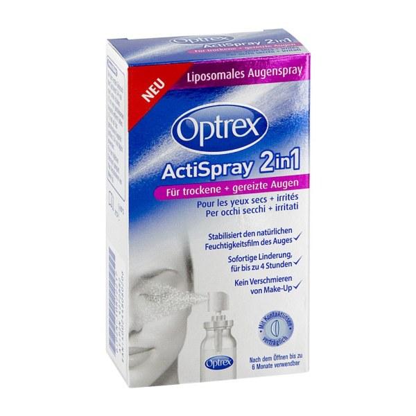 德国OptrexActispray 2合1缓解眼睛干燥刺激喷雾