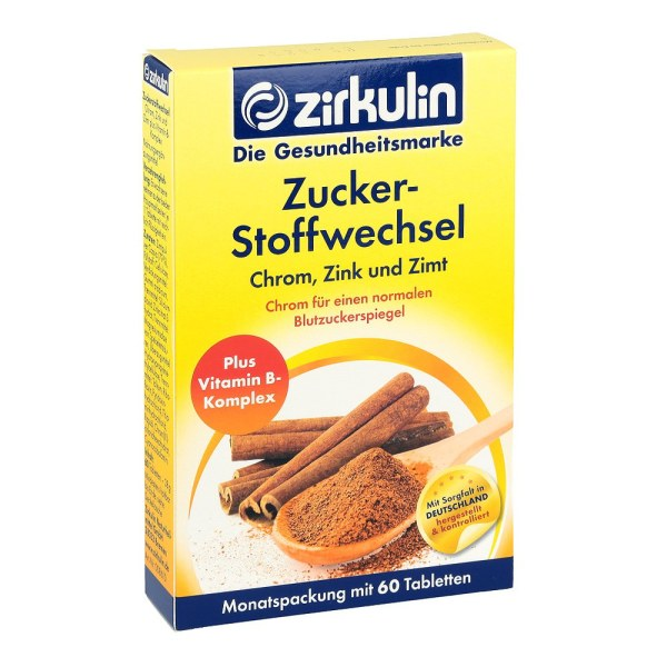 德国Zirkulin 天然桂皮降糖片