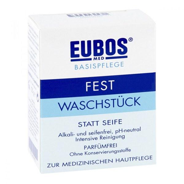 Eubos 仪宝无皂无香蓝色香皂