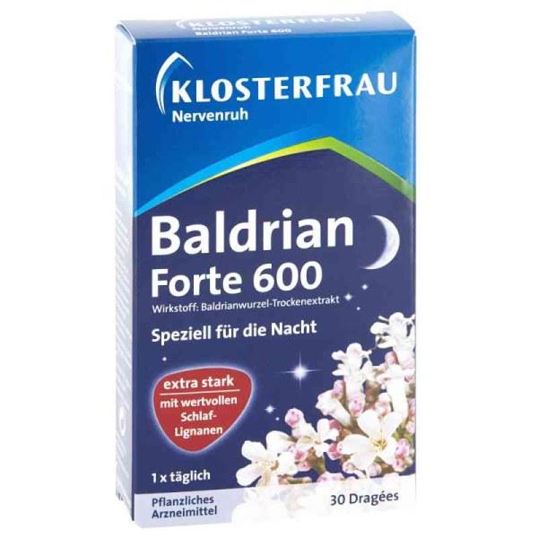 德国 KLOSTERFRAU纯天然缬草根精600mg改善帮助睡眠30片