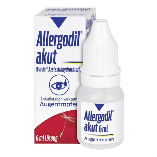 ALLERGODIL 急性过敏滴眼液/ 花粉症强效迅速