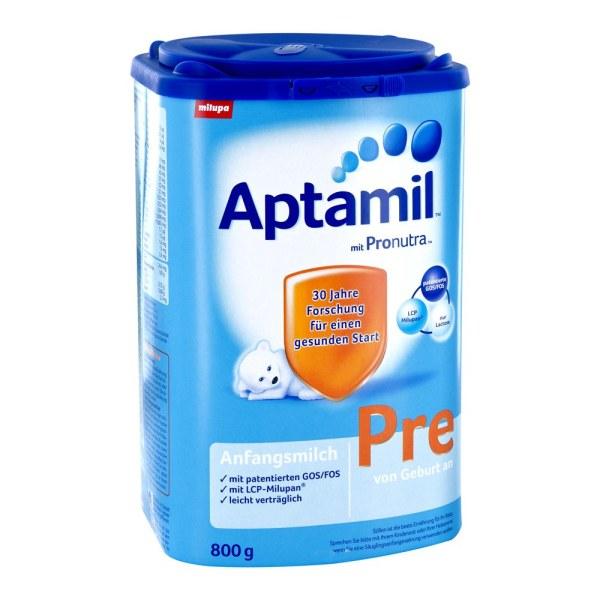 德国Aptamil 爱他美婴幼儿成长配方奶粉 Pre段
