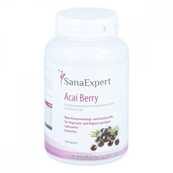 德国Sanaexpert 巴西莓胶囊 排毒抗氧化