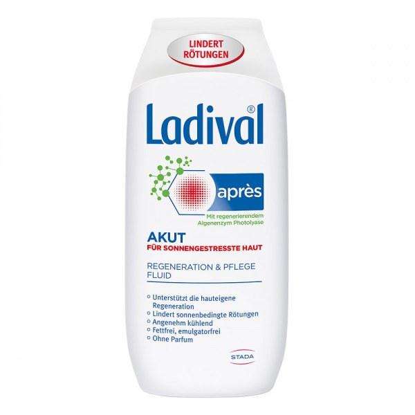 德国LADIVAL专业药妆紧急晒后修复乳