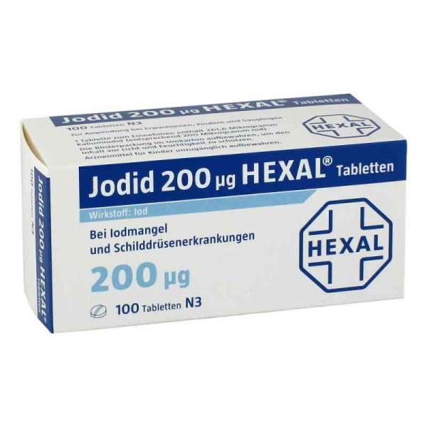 Hexal 补碘 200μg 100片 甲状腺疾病