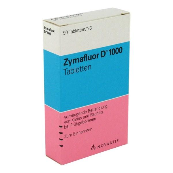 德国Zymafluor 维生素D1000营养片