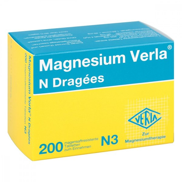 德国MagnesiumVerla 防抽筋补镁片