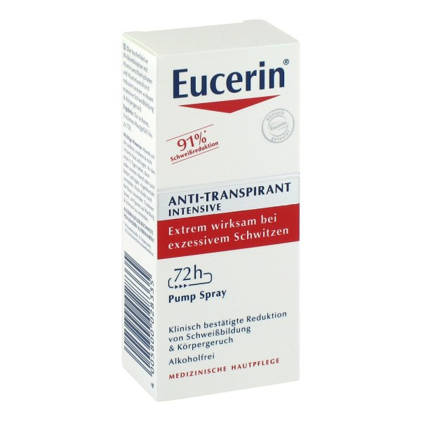 德国Eucerin 优色林72小时止汗喷雾