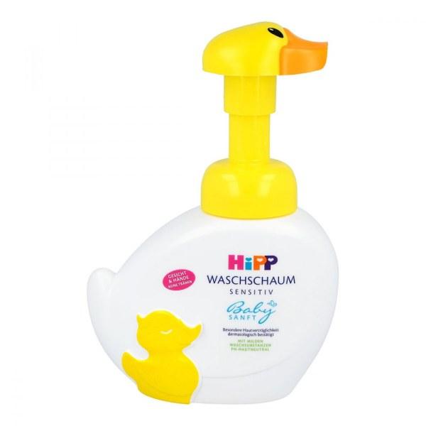 德国Hipp 喜宝小黄鸭免敏无泪洗手洗脸液
