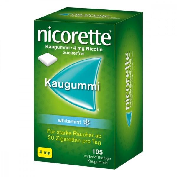 德国NICORETTE 力克雷戒烟薄荷味口香糖