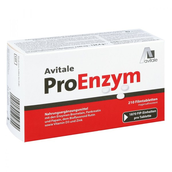 PROENZYM 健身蛋白药片 210粒