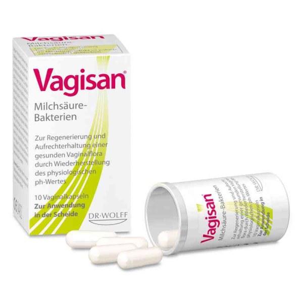 德国Vagisan阴道乳酸杆菌胶囊 益生菌 霉菌等阴道炎 菌群失调 10粒