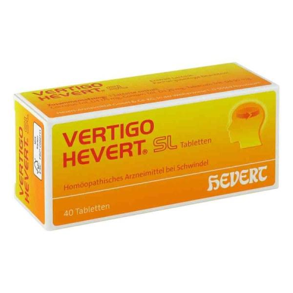 德国Hevert Vertigo纯天然防头晕目眩含片