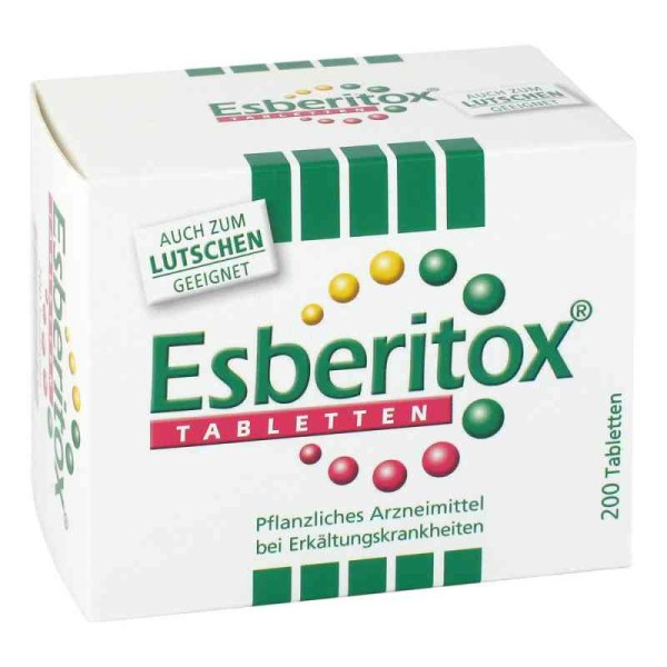 德国Esberitox 增强免疫力感冒药片
