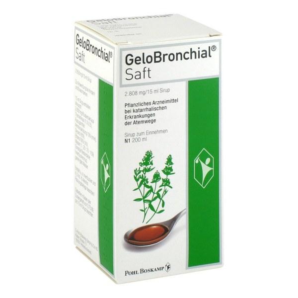 Gelobronchial吉诺通 桃金娘油 糖浆(成人及1岁以上儿童)200ml