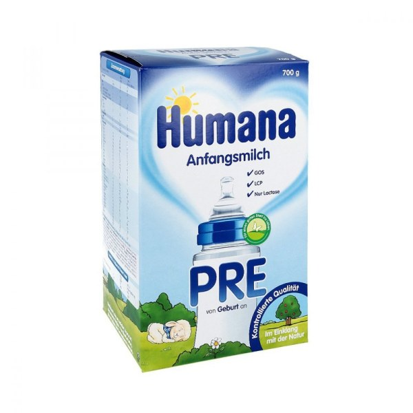 Humana 益生元婴儿奶粉 Pre(700克)