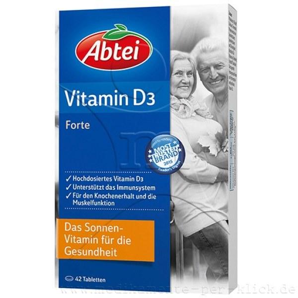 德国Abtei 爱普特增强免疫力维生素D3片