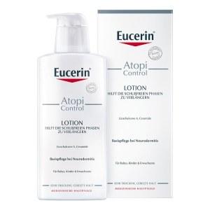 德国Eucerin 优色林湿疹抗过敏舒缓乳液