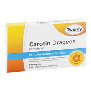 Carotin 天然胡萝卜素营养胶囊  (60粒)