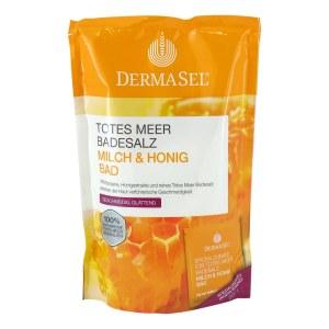 德国Dermasel 天然死海牛奶蜂蜜浴盐