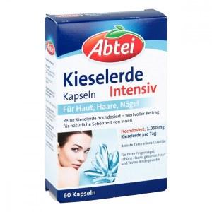 德国Abtei 爱普特高浓度硅美肤美发胶囊