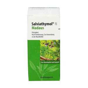 德国 Salvi0athymol N 牙周炎牙龈炎和口腔黏膜炎症滴剂