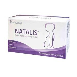 德国SanaExpert Natalis孕妇叶酸鱼油套装