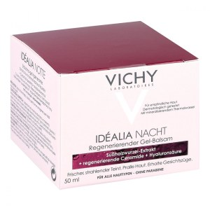 Vichy 薇姿 Idealia Skin Sleep 理想新肌 焕能 熬夜 晚霜50ml