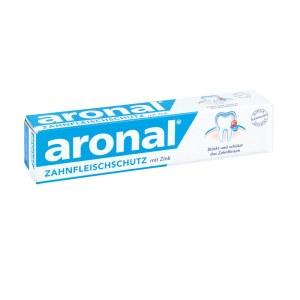 德国Elmex Aronal 含锌成人牙膏 抗菌消炎症保护牙龈清除牙垢