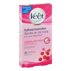 德国Veet 普通肌肤冷蜡脱毛蜡纸