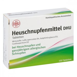 DHU 天然草药防花粉过敏片100粒